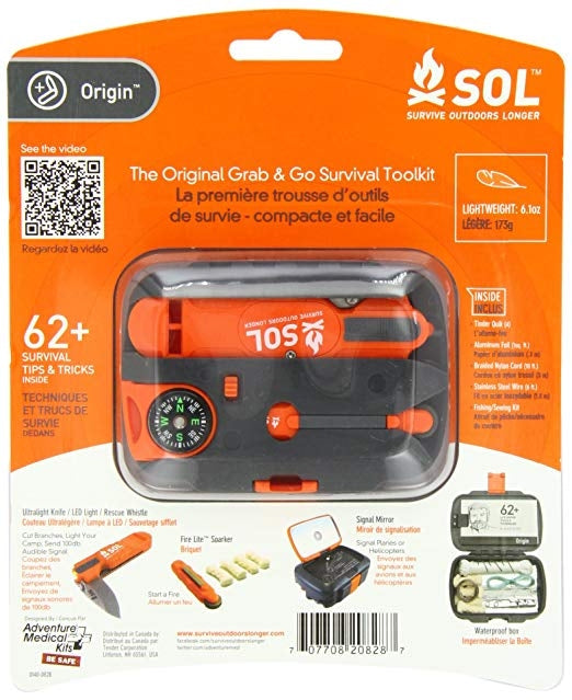 Origin Survival Tool Kit by Survive Outdoors Longer