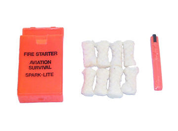 Spark Lite Aviation Survival Fire Starter