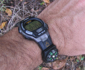 Watch Band Survival Compass