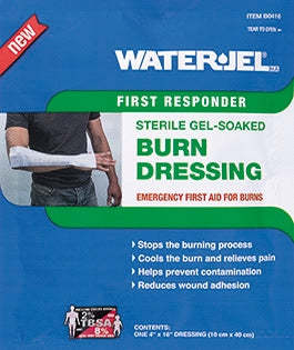 "Water Jel First Responder Burn Dressing 4"" x 16"""
