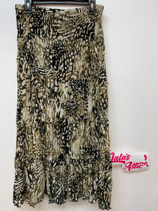 Chico's Printed Long Skirt