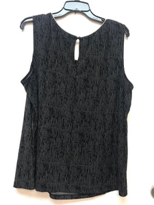 Worthington Women's Sleeveless Top - Black