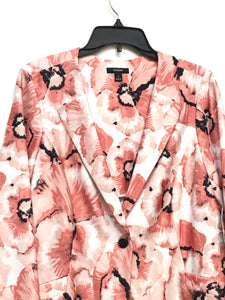 Alfani Printed One-Button Jacket- Modern Pansy - Medium
