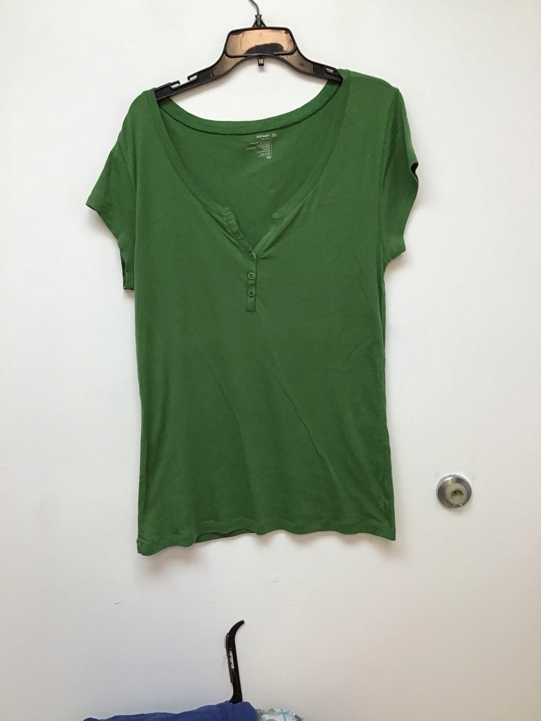 Old Navy olive green top size XXL
