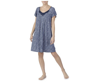 Secret Treasures Sleepwear- Blue White - 5X