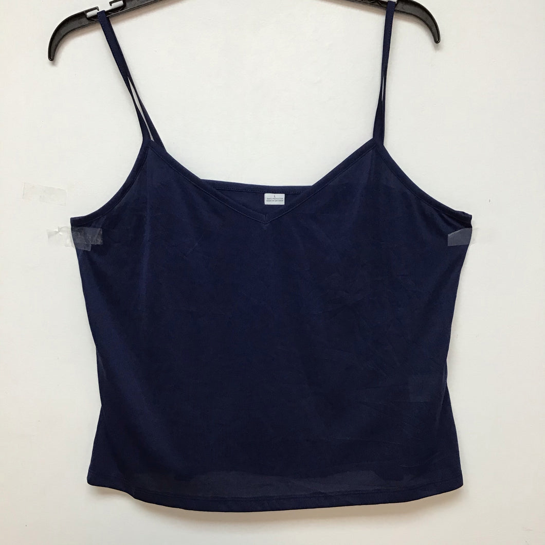 Unbranded navy blue spaghetti strap top size large