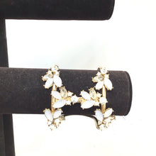 Sarina golden cuff - White Crystals