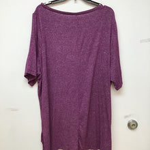 Lane Bryant plum colored top size 22/24
