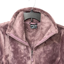 32 Degrees Heat Faux Fur Zip Up Sweater