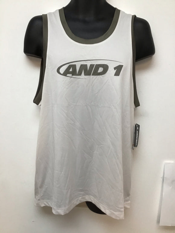 And 1 bully  sleeveless top white sand