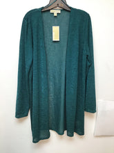 Michael Kors Atlantic green cardigan size XL