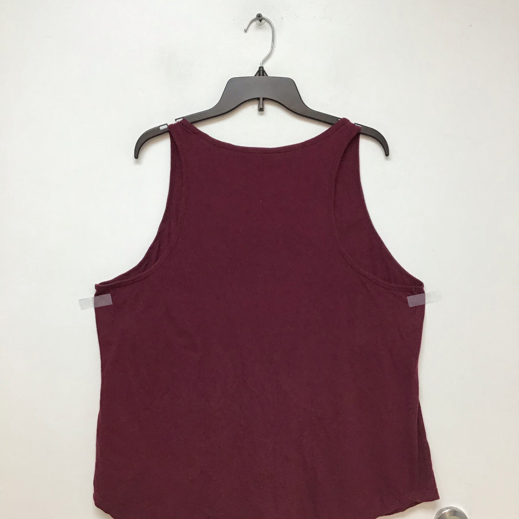Universal Thread burgundy tank top size XXL
