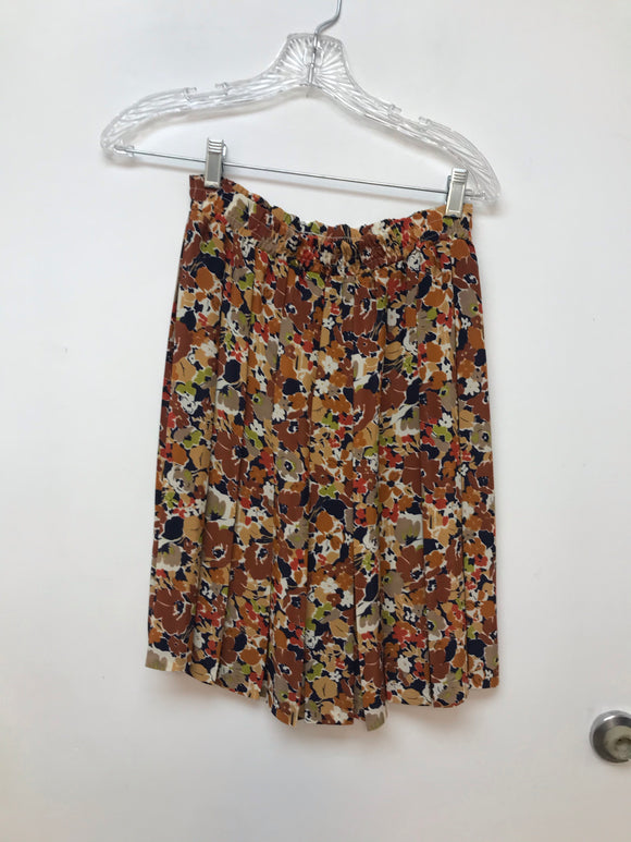 Petites by Fundamental Things floral print skirt size 4