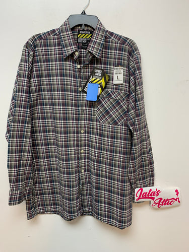 Big Rock Canyon Plaid Button Up