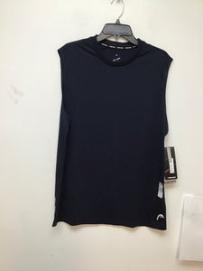 Head mesh sleeveless navy