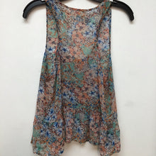 Ambiance apparel sleeveless floral print top size large