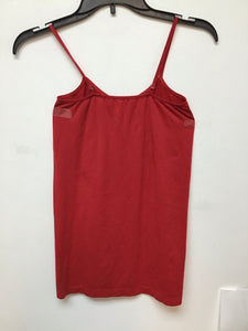 Unbranded red spaghetti strap top size small