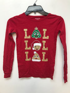Girls Children's Place Christmas Long Sleeve