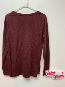 Mossimo Red Brick Long Sleeve