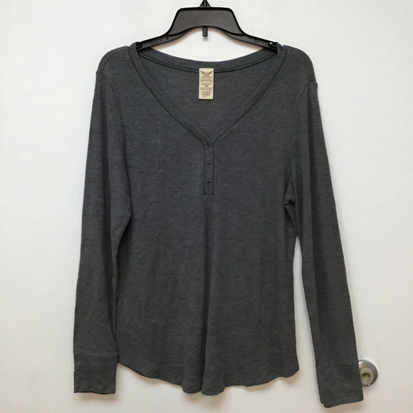 Faded Glory gray thermal top size 2XL