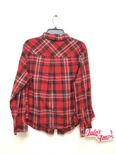 Ava & Viv Women's Plaid Blouse