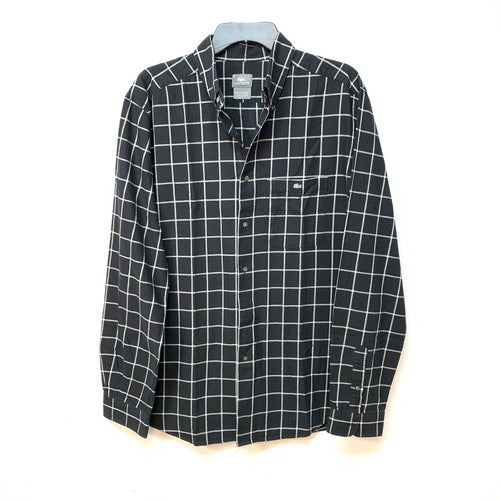 Lacoste Striped Long Sleeve Button Down