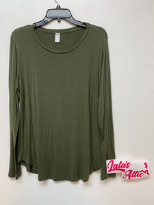Old Navy Luxe Green Top