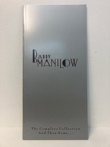 Barry Manilow The Complete Collection and then some