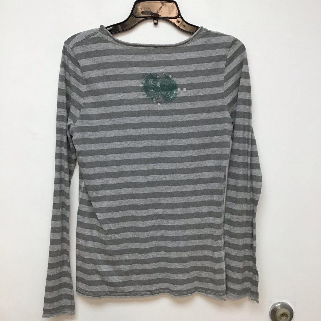 Established long sleeve gray and green size medium
