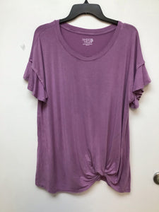 Time and True lilac top size 2X