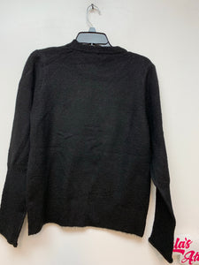 RStar Ladies Knit Sweater- Black