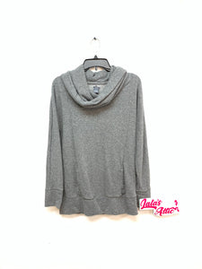 Aerie Drop Neck Sweatshirt W/Sparkles