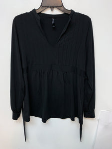 Old Navy Maternity Women's Black Long Sleeve