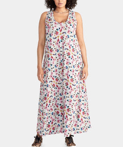 Rachel Roy Plus Size Gabi Printed Maxi Dress