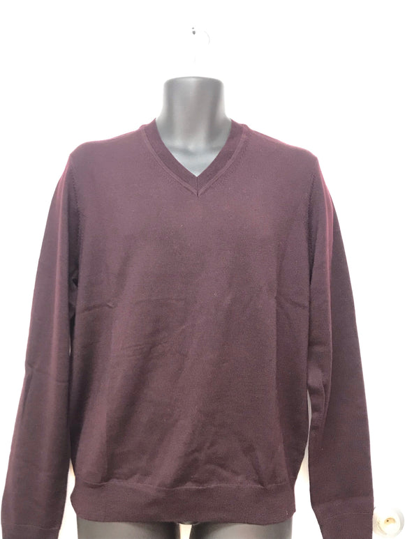 The Men's Store Bloomingdales V-Neck Sweater - Medium