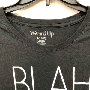Wound Up Blah Blah Blah Shirt sleeve Shirt