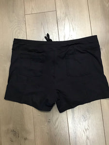 Active life Black stretch shorts size XXL