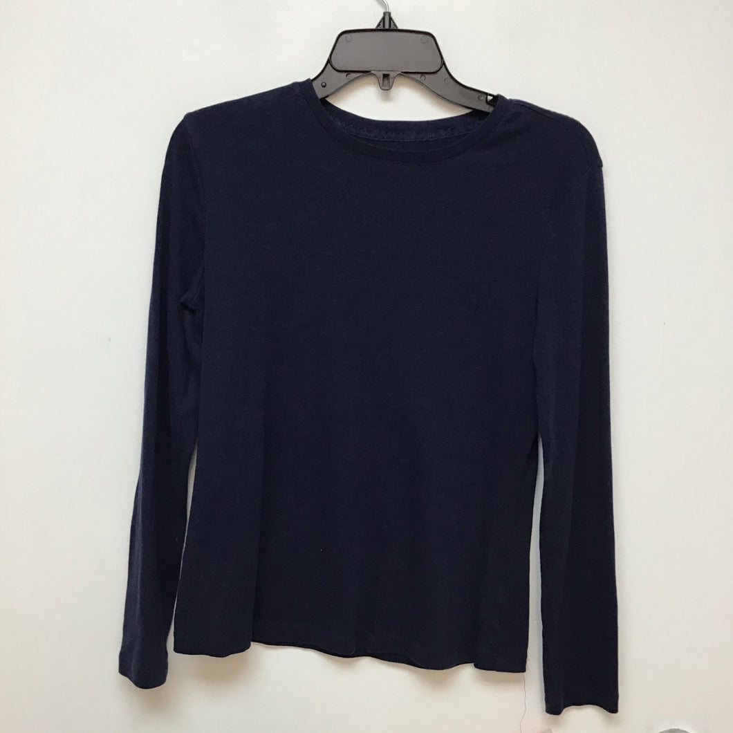 Bass & Co navy blue long sleeve shirt size medium