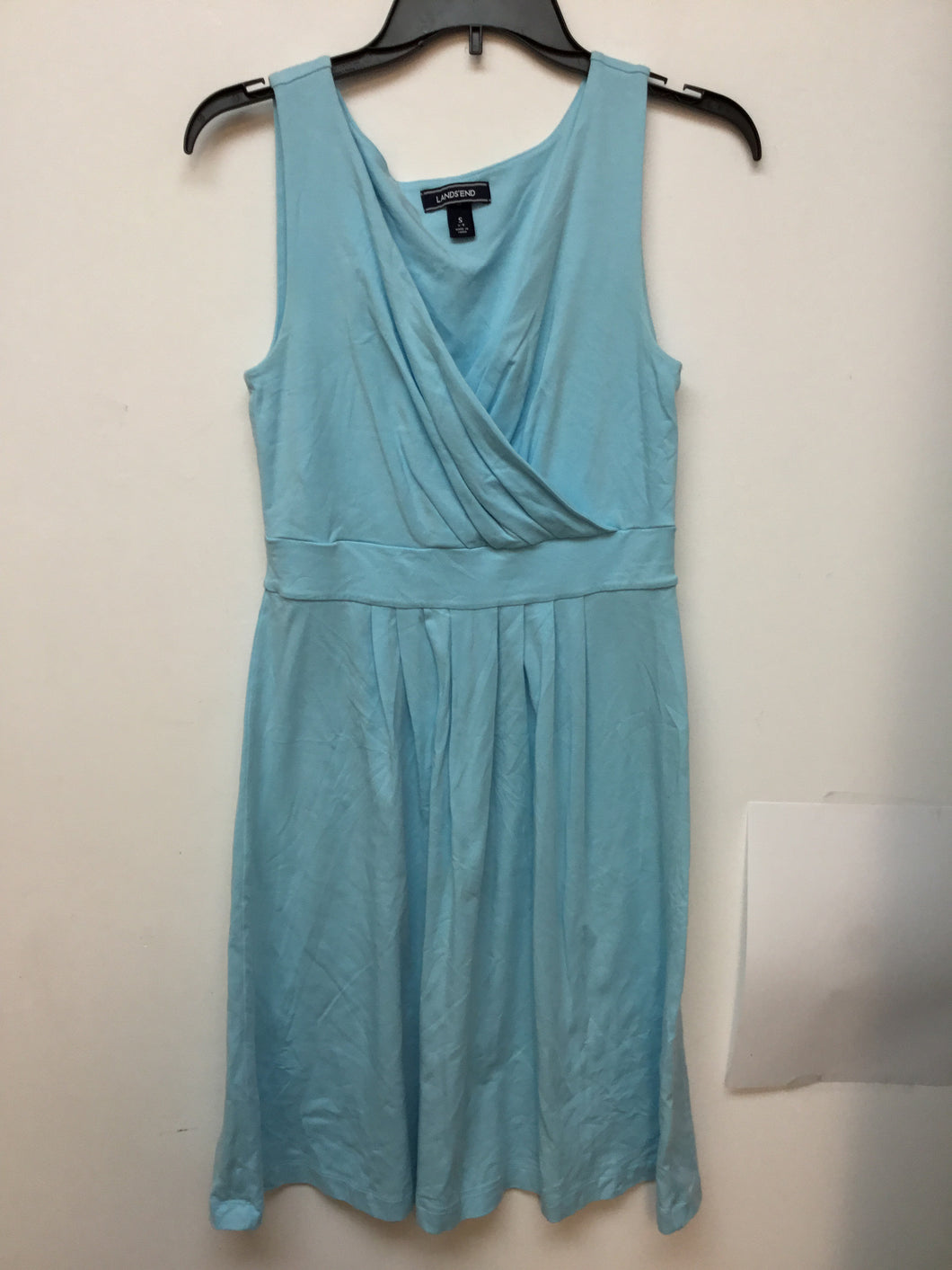 Lands End sky blue dress size small