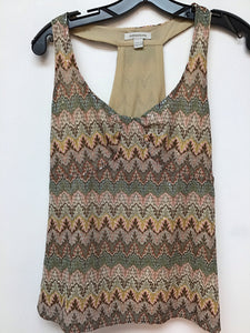 Boston Proper Sleeveless Top - MultiColor - XSmall