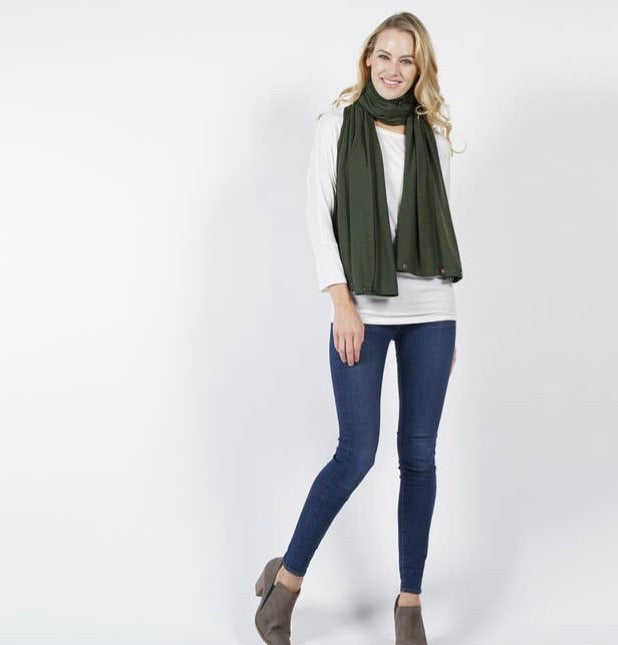 Convertible WrapScarf - Olive