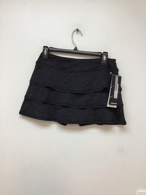 Head scallop skort black