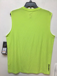 Head sleeveless neon yellow heather