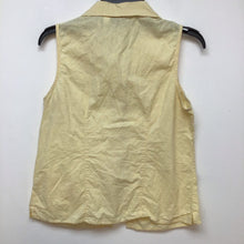 Sonoma light yellow sleeveless top size medium