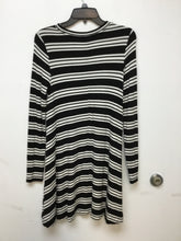 Loft Lounge black and white striped dress size XSmall