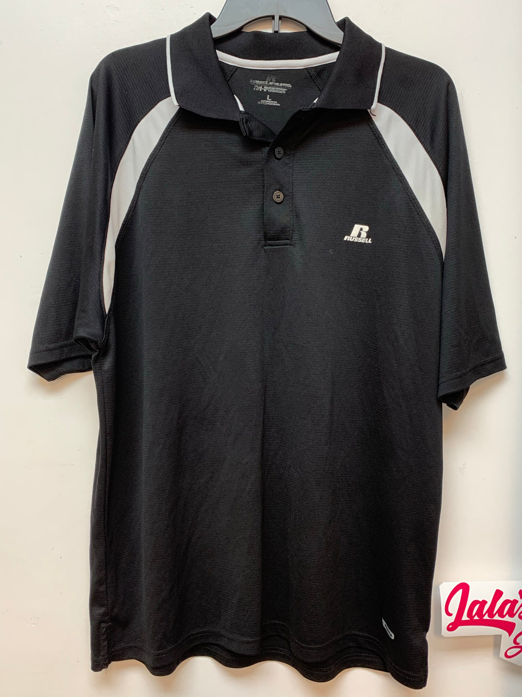 Russell Short Sleeve Polo - Black