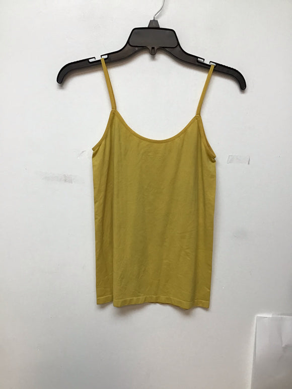 The Limited mustard spaghetti strap top size large