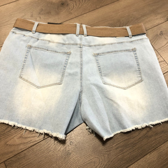 Dollhouse Women's Shorts - Light Blue size 20