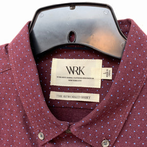 WRK LS Button Up