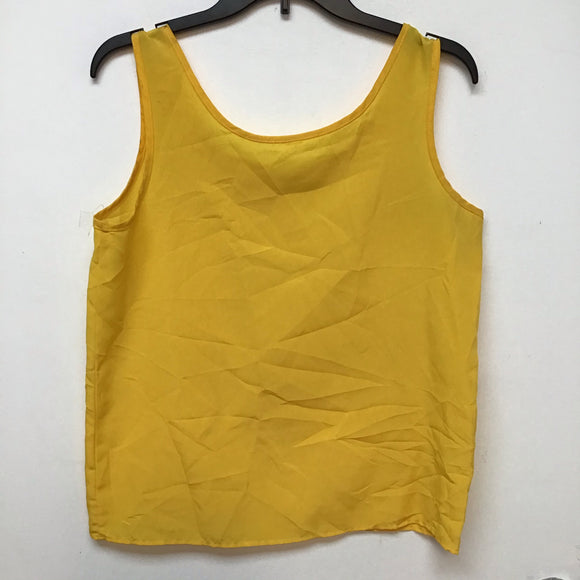 Unbranded mustard sleeveless top size large
